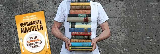 Über den Zusammenhang zwischen Erdüberhitzung und unserer Lebensweise: Norbert Copray empfiehlt das Buch Verbrannte Mandeln sowie Das Ozeanbuch (Foto: luxuz:.photocase.de)