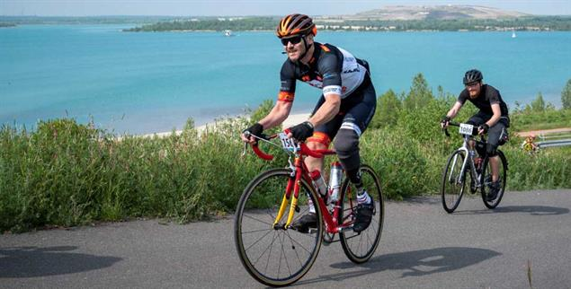 Radrennen machen Oliver Stitterich glücklich (Foto: Anna Schroll)