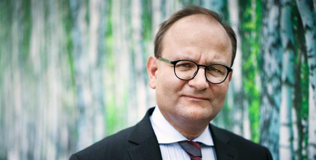 Ottmar Edenhofer, Leiter des Potsdamer Instituts für Klimafolgenforschung, ist der diesjährige Preisträger des Deutschen Umweltpreises (Foto: Plambeck/laif)