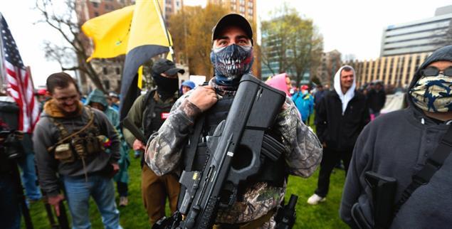 Explosive Stimmung in den USA (Foto: PA/AP/Paul Sancya)