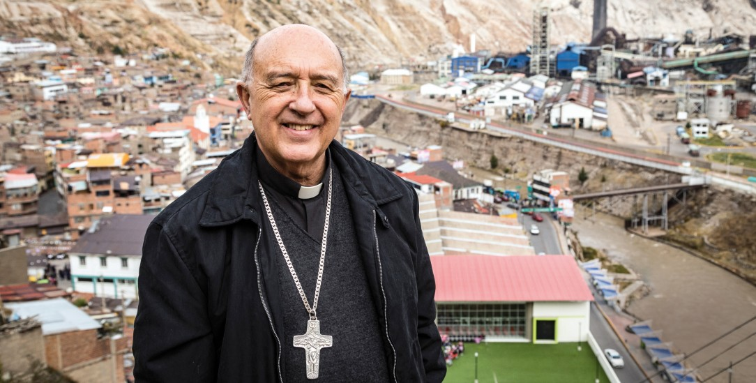 Kardinal Barreto in La Oroya: Ein bedrohter Ökokämpfer (Foto: adveniat/Steffen)