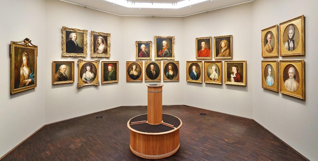 Ausstellungsstücke im neuen Museum der Romantik in Frankfurt (Foto: Englert)