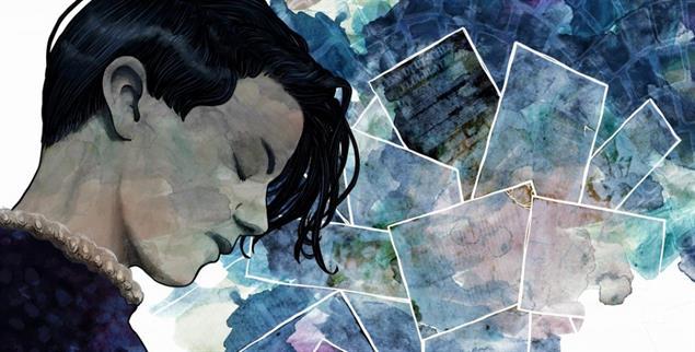 Die junge Frau und die Flugblätter: Scholl-Bildnis des Illustrators Seth Hahne (Illustration: Seth T. Hahne)