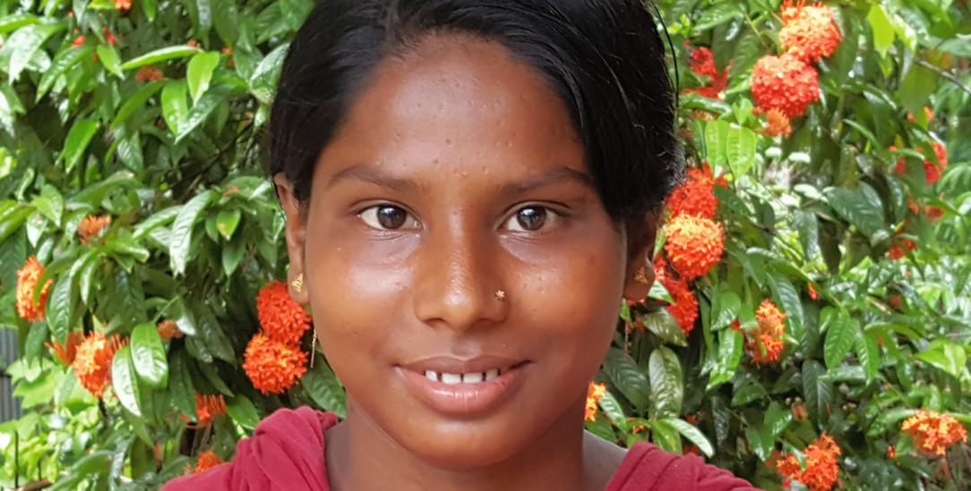 Fühlt sich frei in Bangladesch: Die 20-jährige Khadia Begum aus Myanmar (Foto: Rheinheimer-Chabbi)