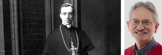 Was wusste der Papst? Der Theologe Klaus Kühlwein über Pius XII. und dessen Verhalten während der NS-Zeit  (Fotos:pa/ privat)