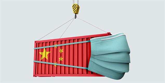 Mit gelieferten Waren und Schutzmasken aus Peking nimmt Chinas Einfluss in Europa zu (Foto: Shutterstock/Ink Drop)