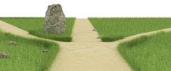 Welcher Weg ist der richtige? Menschen, die eine klare Berufung spüren, wissen es an einem bestimmten Punkt ihres Lebens. (Foto: Thinkstock/getty/imegastocker)