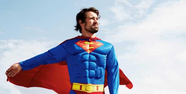Auszeit für den Superman: Beim »Ehrgeizfasten« ist weniger mehr (Foto: epd/Gutmann)