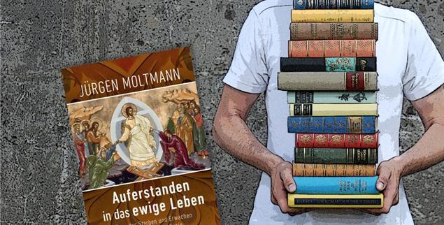 Jürgen Moltmanns Werk »Auferstanden in das ewige Leben« ist Buch des Monats bei Publik-Forum. (Foto: photocase/Litho: Gütersloher Verlagshaus)
