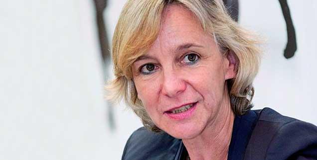 Die Journalistin und Publik-Forum-Autorin Ulrike Schnellbach fragt sich: »Was heißt Pressefreiheit in Zeiten des Rechtspopulismus?« (Foto: Heyer)
