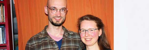 Jonathan Redford, der  aus Crowborough von der Südküste Großbritanniens stammt, möchte mit seiner Freundin Sara in Deutschland leben. Doch eine Arbeit suchen kann er erst, wenn klar ist, welchen Status britische Bürger in Europa künftig haben werden (Foto: Lerch)