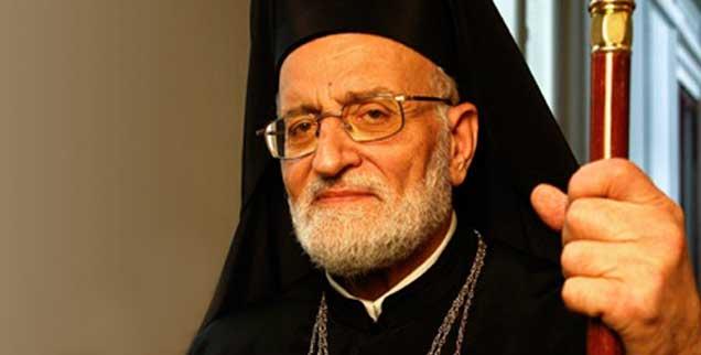 Gregor III. Laham: Der Patriarch pflegt seine Nähe zu Assad; die Proteste gegen das syrische Regime hält er für »von außen gesteuert«. (Foto: www.katholisch-informiert.ch)