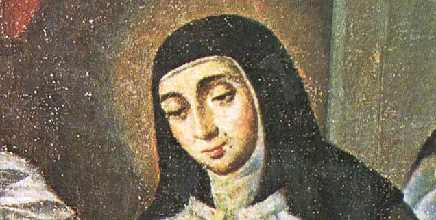 Teresa von Àvila auf einem Gemälde aus dem 17. Jahrhundert: Am 28. März würde sie 500 Jahre alt. Zu alt, um heute noch stilbildend sein zu können? Das Gegenteil ist richtig, findet Autorin Irene Leicht. (Foto: kna)
