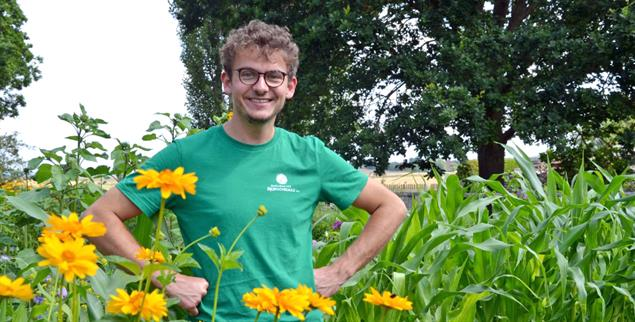 Landwirt mit Weitblick: Julius Jacobi (Foto: Lübbers)