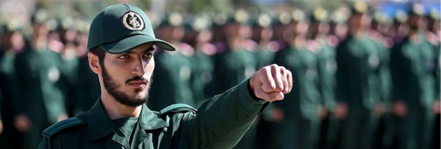Irans Revolutionsgarden: viel mehr als nur eine militärische Macht. (Foto: pa/Reuters/ Tasnim News Agency)