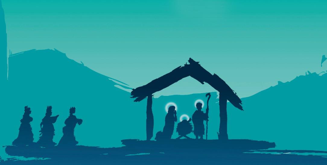 Drei Weise aus dem Morgenland kommen zu Jesus: Ihre wertvollen Geschenke – Gold, Weihrauch und Myrrhe – stehen für den Respekt, den sie dem Neugeborenen und seinen Eltern geben (Illustration: istockphoto/SaulHerrera)