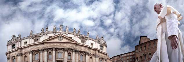 Wie geht es weiter mit der katholischen Kirche? Spaltung, Reform oder weiter wie bisher? Der aktuelle Streit um die Kommunion ziegt, welche Macht die Kräfte der Restauration haben. Der Umgang des Papstes mit dem Chile-Skandal könnte in eine andere Richtung weisen (Foto: pa/Spaziani)