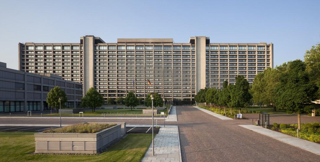 Schräge Finanzpolitik: die Bundesbank in Frankfurt am Main (Foto: www.bundesbank.de)