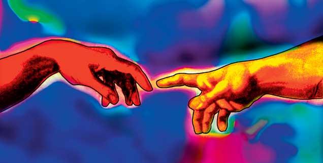 Wie treten Gott und die Welt in Beziehung? Es gibt eine lebhafte Debatte, und nicht wenige Theologen beantworten die Frage ganz anders als die Kirchen (Foto: pa/Maltz)